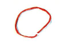 Защита от порчи и сглаза - красная нитка